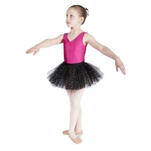 Tutu Rokje Glitter Ballet Zwart