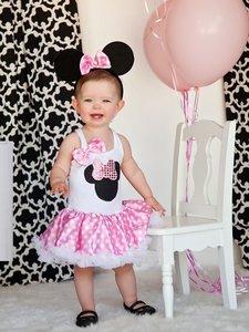 Minnie Mouse Party jurk roze