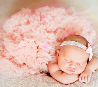 Baby Petticoat Luxe Roos pink By Meetje-Pettiskirts