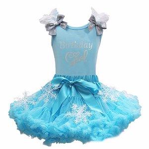 Birthday Girl Frozen Elsa Petticoat set