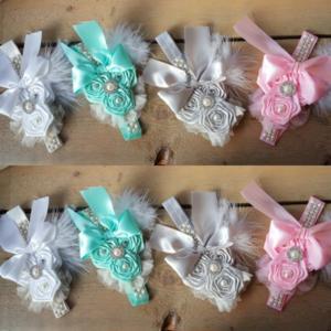 Exclusieve haarband  Flower Girl Chic Couture Diverse kleuren