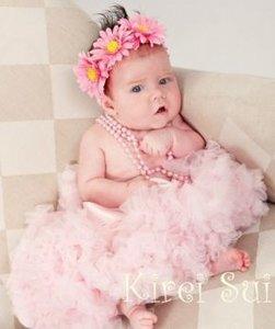Baby Petticoat Luxe Baby Pink By Meetje-Pettiskirt