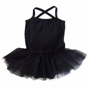 baby tutu balletpakje Zwart