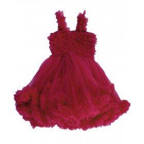 Ruffle Butts Prinses Wijn Rood Pettidress