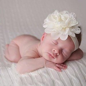 Baby haarbandje Craft Lace Ivoor.
