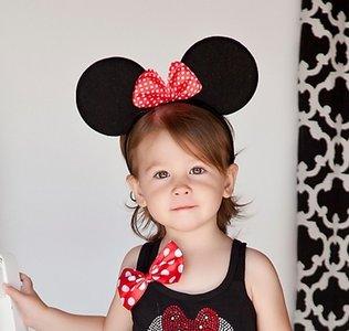 Minnie Mouse Diadeem Rode strik