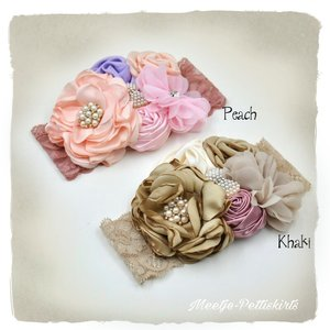 Luxe Haarband Rich Flower Garden haarband