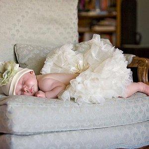 'Petticoat Luxe Ivory By Meetje-Pettiskirts Kids