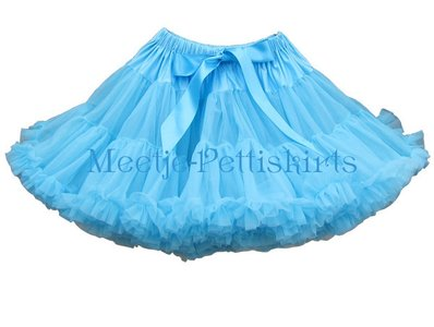 Petticoat Luxe Aqua Blue By Meetje-Pettiskirts