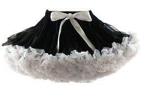 Petticoat Zwart wit  By Meetje-Pettiskirts Kids & Women.