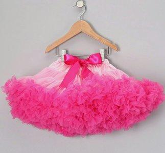 Petticoat Luxe Baby pink Hotpink By Meetje-Pettiskirts Kids & Women