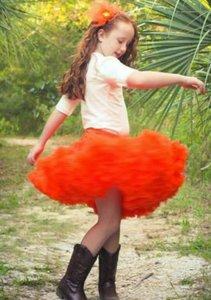 Petticoat Luxe Oranje By Meetje-Pettiskirts