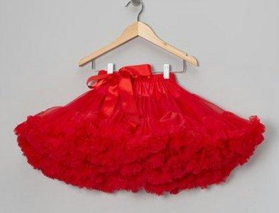 Petticoat Luxe Rood By Meetje-Pettiskirts Kids & Women