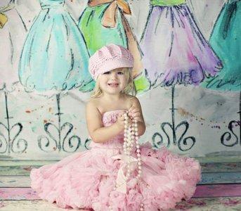 Petticoat Luxe Baby Roze By Meetje-Pettiskirts Kids & Women.