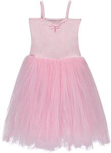 Balletpakje roze met lange tutu 92-152