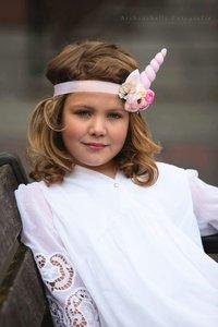 Unicorn Eenhoorn roze luxe haarband fotoshoot Tip