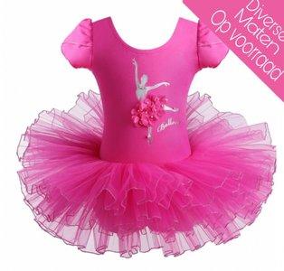 Balletpakje Daisy Ballerina Fuchsia Tutu maat 98-140