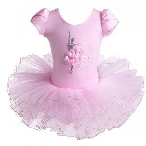 Balletpakje Daisy Ballerina Roze Tutu maat 98-140