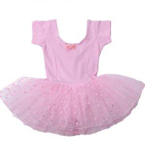 Balletpakje Pink Short Romantic Dream Girl Tutu maat 92-140