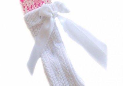 Knie Sokjes Wit Newborn-6 jaar