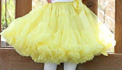 Petticoat Luxe Geel By Meetje-Pettiskirts Kids & Women