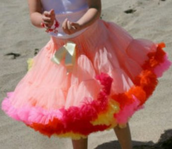 Petticoat Luxe Summer Rainbow By Meetje-Pettiskirts Kids