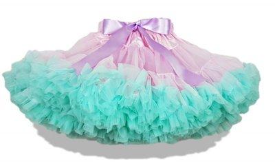 Petticoat Luxe Roze Mint & Paarse Strik KIDS
