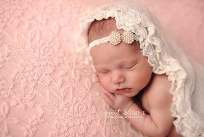 Haarband Baby Newborn Lace Strik