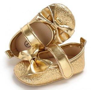 Ballerina babyschoentjes lisa goud