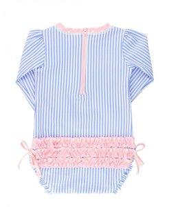 blauw wit roze zwempakje 56-92