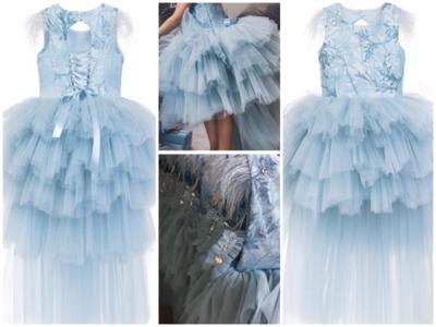 Communie jurk en Bruidsmeisjes jurk met sleep Ultra luxe Diverse kleuren mogelijk