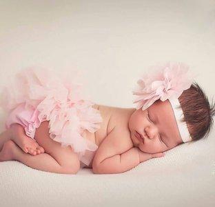 Baby Tutu luierbroekje licht roze