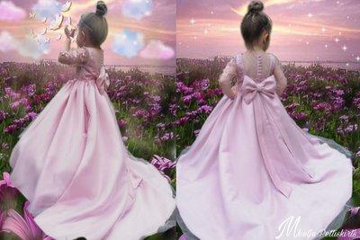 Ultra Luxe handmade feestjurk voor Bruidsmeisje en Communie 56 tm 176