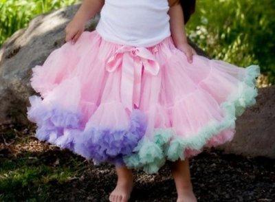 Petticoat Luxe Roze rainbow KIDS