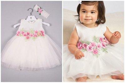 bloemenmeisje jurk - bruidsmeisjesjurk maat 62 tm 116