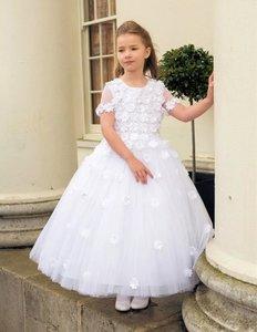 Communie jurk wit Leona