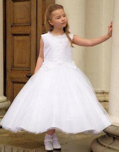 Communie jurk wit Phoebe