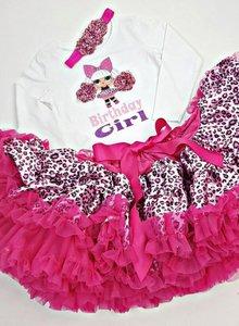 LOL verjaardag set tutu petticoat Birthday Girl