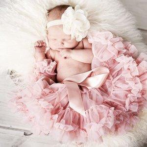 Baby Petticoat Luxe Poederroze By Meetje-Pettiskirts.