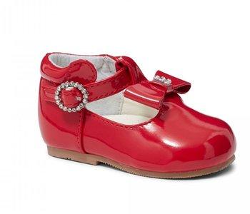 Rode glitter schoen Meisjes met oortjes maat 18 - 23