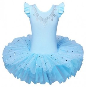 Balletpakje blauw tutu Sparkle Style maat 92-140 NEW