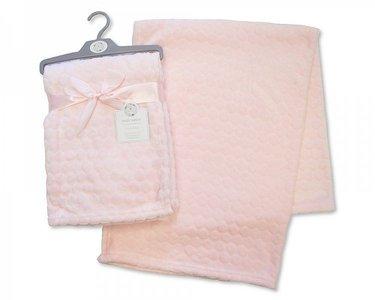 Baby deken Zacht roze Snuggle Baby