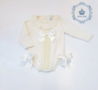 KNIT romper ivoor Spanisch Style voor baby's  NEW