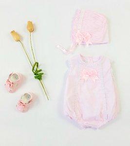 Brocante romper Roze  Spanisch Style voor baby's  NEW