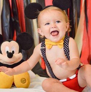 Cake smash setje Jongen Mickey Mouse 4delig