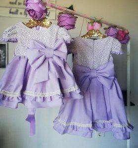 Lila jurk Valerie Atelier Handmade 50 tm 186