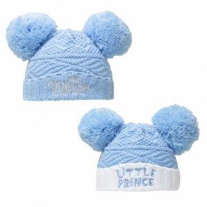 Baby wintermutsje Prince NIEUW.
