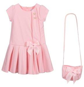 Roze jurk met tasje roze Spanisch Girl 92 tm 140
